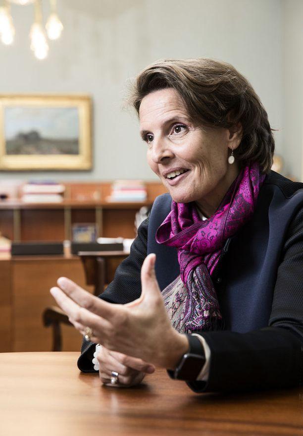 Berner oli kirjoittamassa hallitusohjelmaa. Hyvin tehdyn työn seurauksena Sipilä valitsi Bernerin ministeriksi.