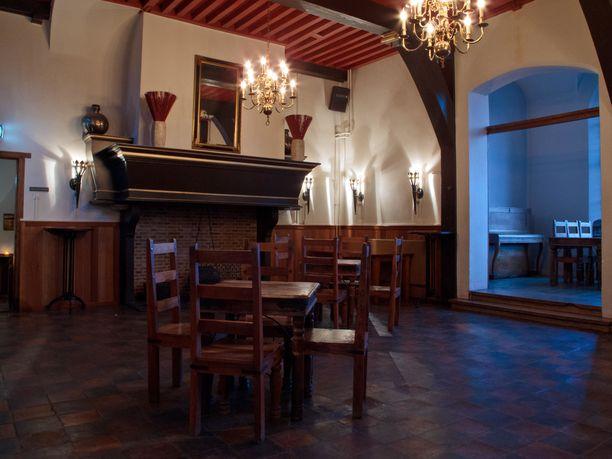 Tältä näyttä Assumburgin linnan sisällä.