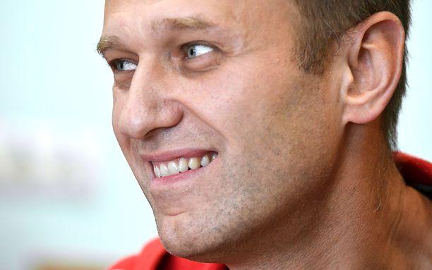 Nvalnyi kuvattiin oikeusistuimessa Moskovassa, kun hänet pidätettiin.