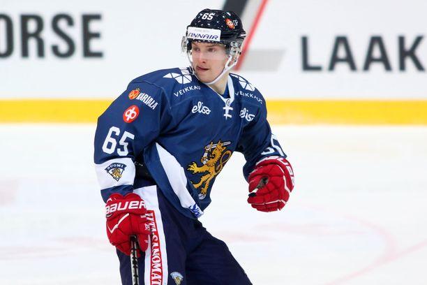 Sakari Manninen teki Leijonien voittomaalin.
