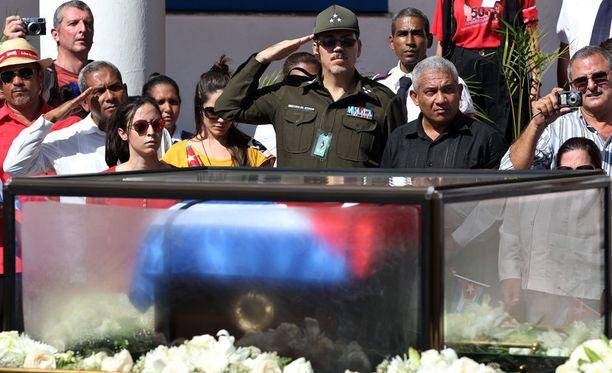 Fidel Castro haudataan sunnuntaina Santiago de Cubassa.