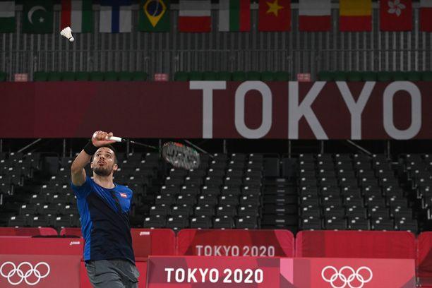 Luka Wraberin turnaus päättyi kahden ottelun jälkeen.