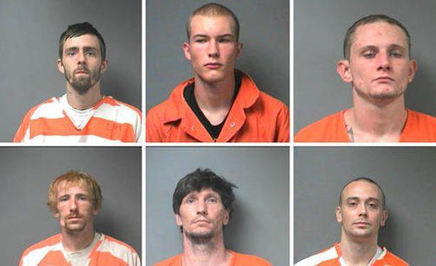 Paenneet vangit olivat iältään 18-30-vuotiaita. He olivat saaneet tuomioita muun muassa murhan yrityksestä ja murtovarkauksista.