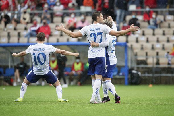 HJK:n panostus Mestarien liigan karsintoihin on näkynyt Veikkausliigassa.