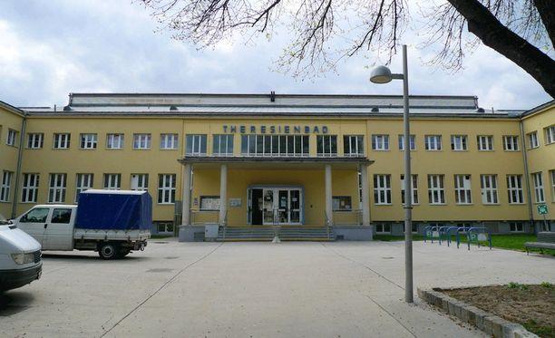 Rikos tapahtui uimahallissa Wienissä joulukuussa 2015.