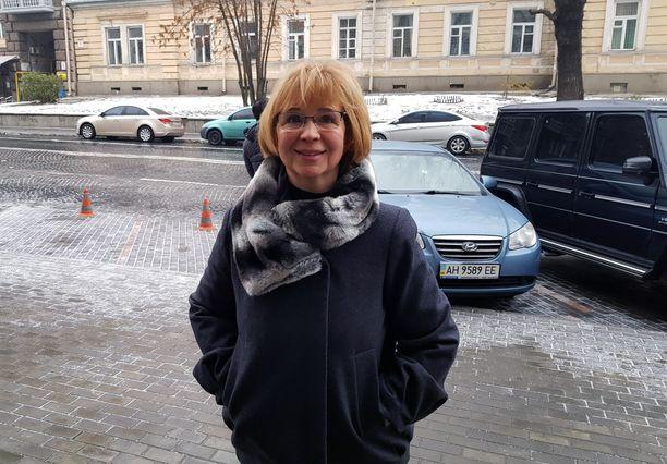 Iltalehti tapasi Irina Dovganin Kiovassa marraskuun lopulla.
