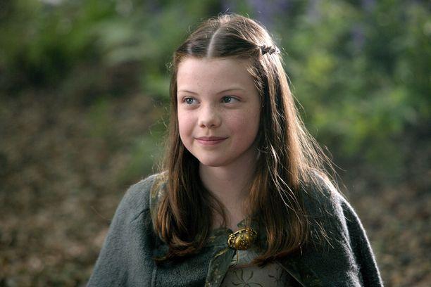 Georgie Henley vuonna 2008 Narnian tarinat - prinssi Kaspian -elokuvassa.