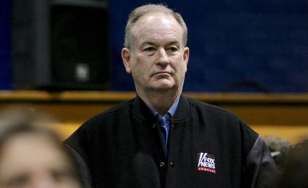 Bill O'Reilly on suosittu amerikkalainen tv-kasvo ja kirjailija.