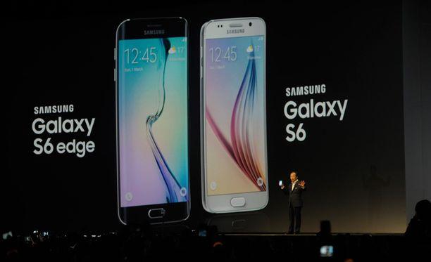Samsung julkisti uutuutensa Barcelonassa.
