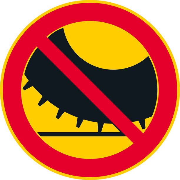 Nastarenkailla ajo kielletty.