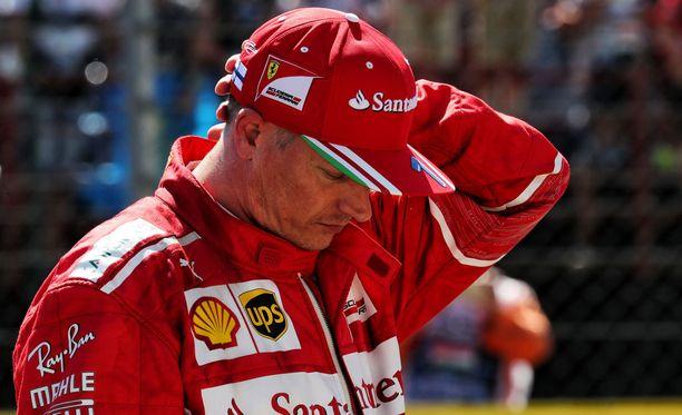 Kimi Räikkösen ajotyyli on Mika Häkkisen mukaan altis virheille.
