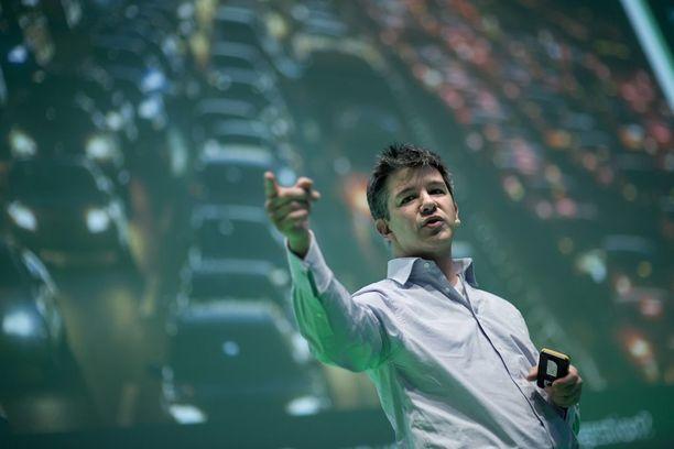 Travis Kalanick on yksi Uberin perustajista.