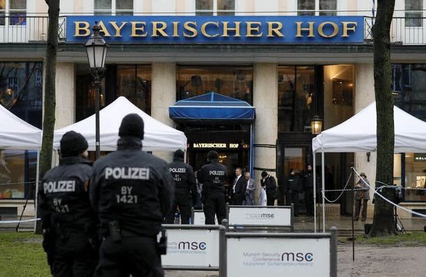 Turvatoimet ovat Münchenissä mittavat.