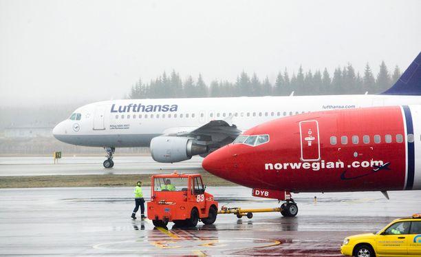 Työtaistelun vaikutukset kohdistuisivat muun muassa Norwegianin lentoihin.