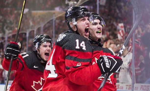 Kanada juhli MM-kultaa 3-1-voiton myötä.