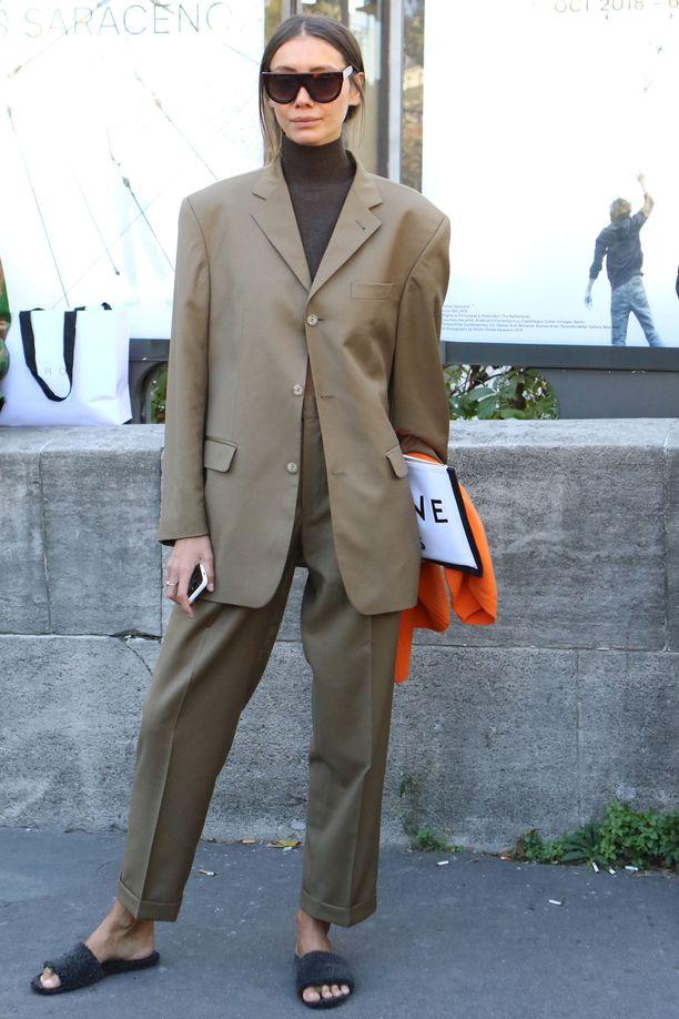 Jokainen fashionista haluaa näyttää huolitellulta, mutta rennolta.