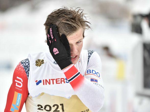 Johannes Kläbon unelma 50 kilometrin MM-kullasta on vielä hengissä.