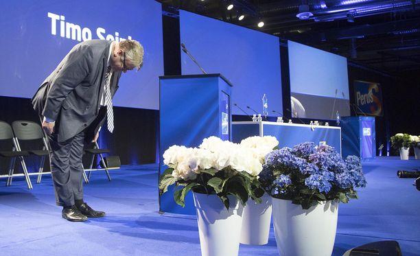 Britit ennustivat jo viime vuonna, että Timo Soini jättää paikkansa perussuomalaisten puheenjohtajana.