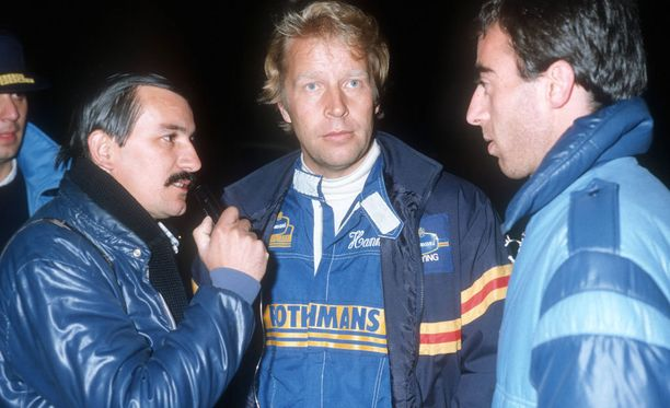 Hannu Mikkola ajoi 123 MM-osakilpailua. Hän kisasi myös kymmenen vuotta jo ennen MM-sarjan alkamista. Kuva vuodelta 1980.