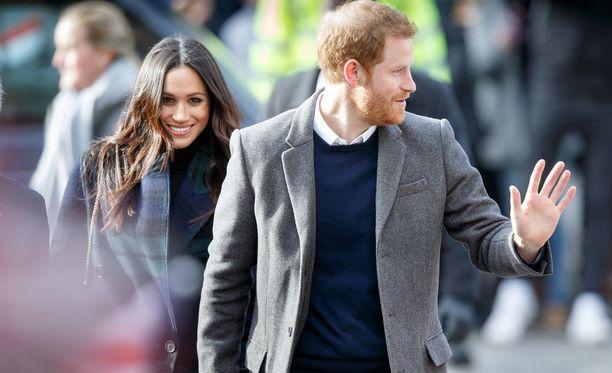 Prinssi Harry ja hänen puolisonsa, näyttelijä Meghan Markle, menevät naimisiin toukokuussa.