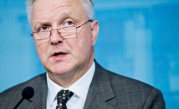 Elinkeinoministeri Olli Rehn (kesk) vierailee Venäjällä.