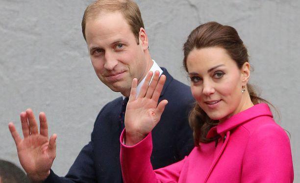 William ja Catherine saavat tänä vuonna toisen lapsensa.