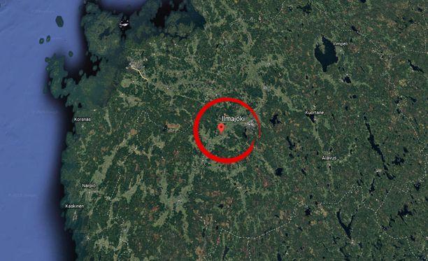 Ilmajoki sijaitsee Etelä-Pohjanmaalla.