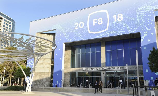 Facebookin F8-konferenssi San Josessa Yhdysvalloissa.