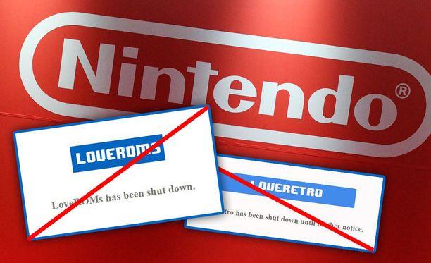 Nintendo on haastanut kaksi pelisivustoa oikeuteen, jotka jakelivat Nintendon vanhoja pelejä.