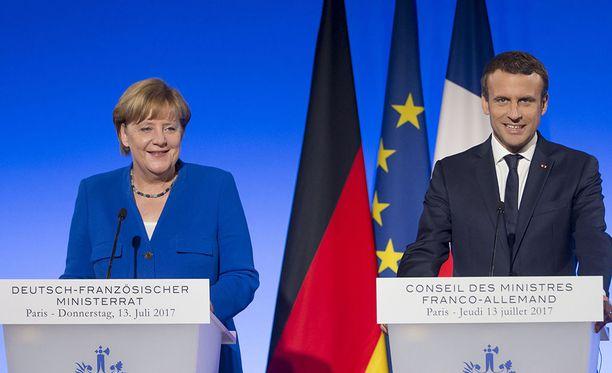 Ranskan presidentti Emmanuel Macron on soittanut onnittelupuhelun Saksan liittokansleri Angela Merkelille, joka jatkaa neljännelle kaudelleen.