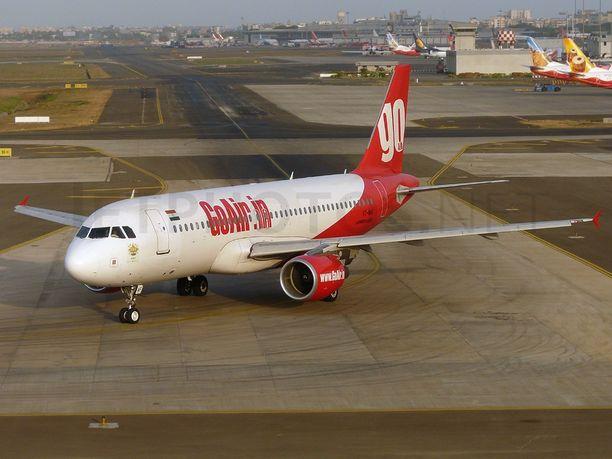 Hätätilanne sattui GoAirin matkustajakoneessa lauantaina.