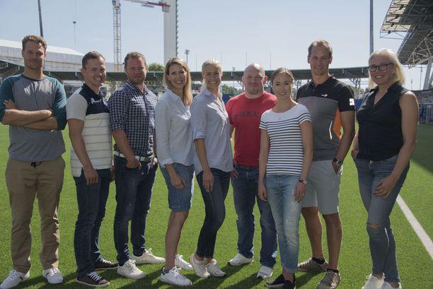 Ex-urheilijoista koostuva kahdeksan hengen ryhmä lähtee Etelä-Afrikkaan syyskuun alussa. He kilpailevat MTV3-kanavan Mestarien mestari -sarjassa, joka tulee televisiosta lokakuussa.