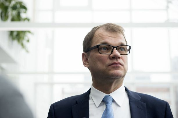 Juha Sipilä esiintyi tiistaina Ylen vaalitentissä. Arkistokuva.