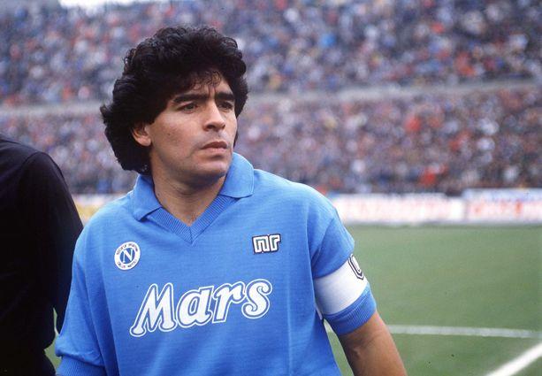 Juha Tamminen tapasi Diego Maradonan pari kertaa tämän Napoli-vuosinaan.