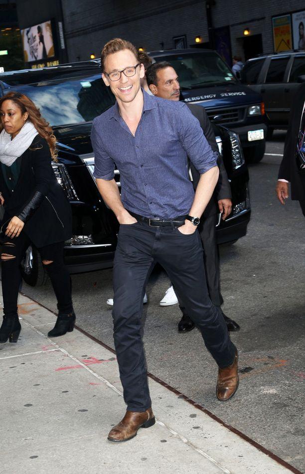 Tom Hiddleston tunnetaan muun muassa The Avengers -elokuvasta.