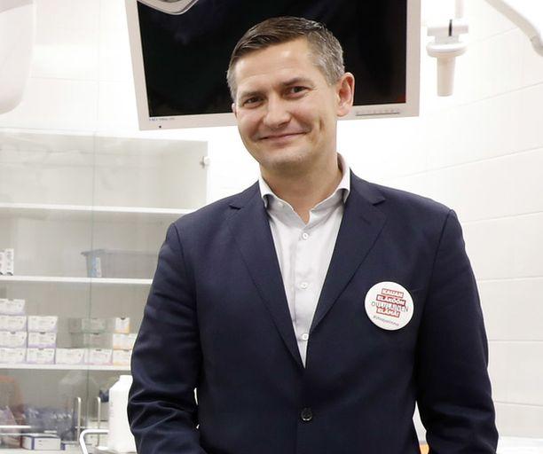 Pihlajalinnan perustaja Mikko Wirén.