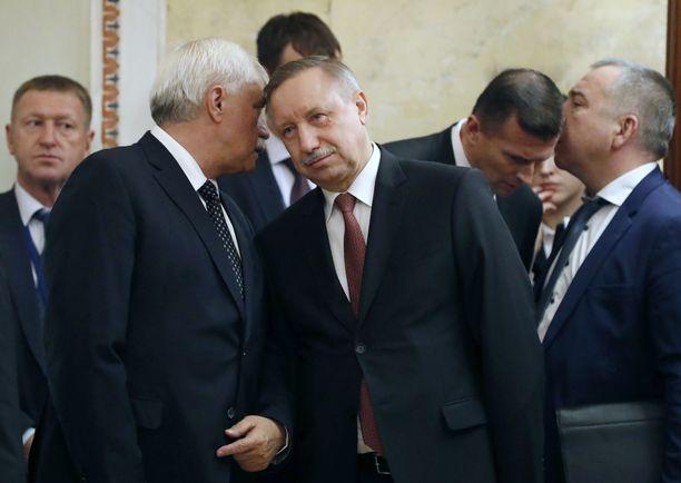 Alexandr Beglov on yksi Vladimir Putinin uskotuista.