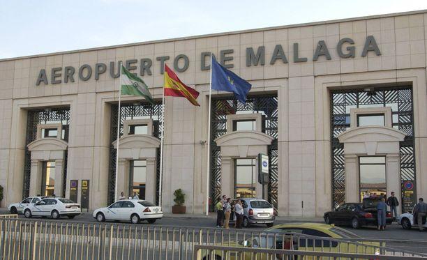 Törkeät teot tapahtuivat Malagan lentokentällä.