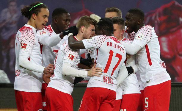RB Leipzig nappasi yllätysvoiton Bayern Münchenistä.