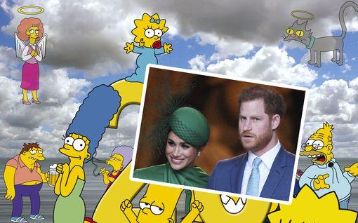 Harry ja Meghan halutaan Simpsonit-sarjaan - myös Greta Thunbergille kutsu