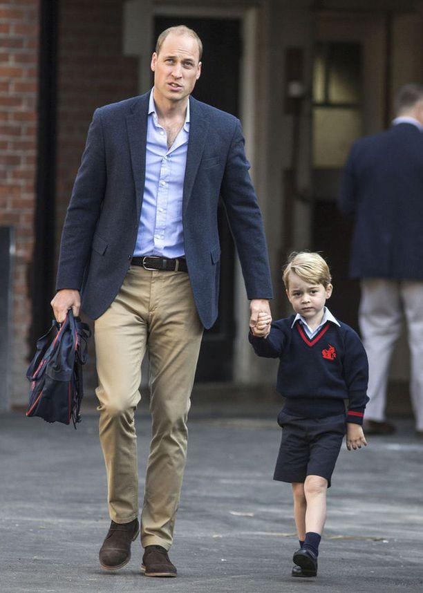 William kertoo poikansa pitävän vauhdikkaista vekottimista.