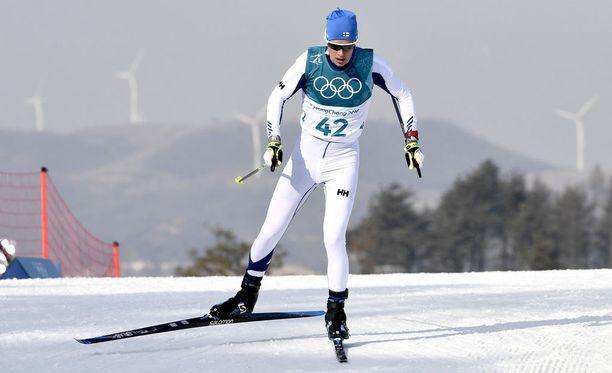 Matti Heikkisen kilpailu oli nousujohteinen.