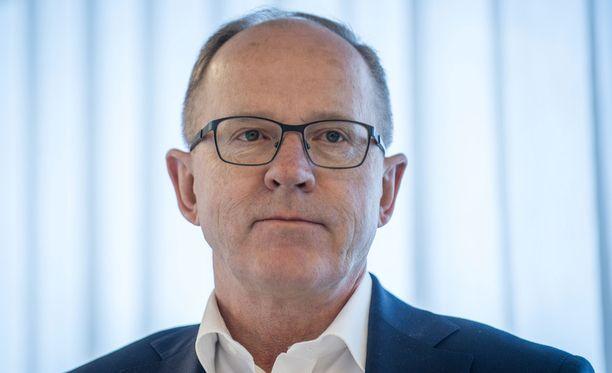 Finnairin toimitusjohtaja Pekka Vauramo sai 130 000 euron lisäeläkkeen.