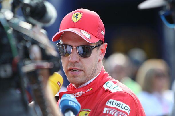 Sebastian Vettel starttaa Italian GP:hen neljännestä ruudusta.