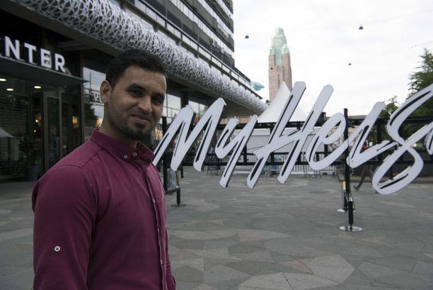 Saad Mosulista tykkää Helsingistä: kaupunki on siisti ja kaunis.