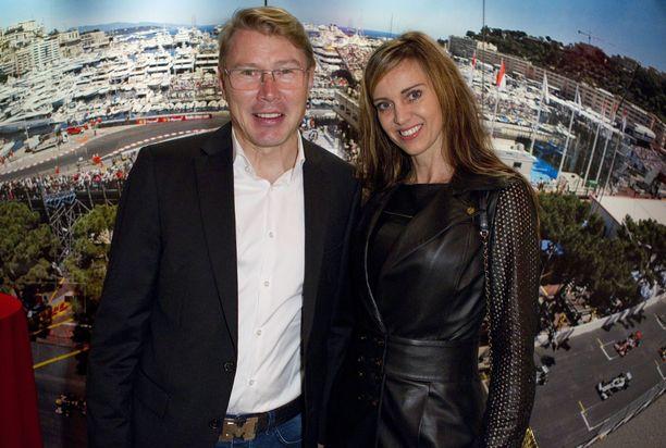 Mika ja Marketa Häkkinen ovat olleet naimisissa vuodesta 2016.