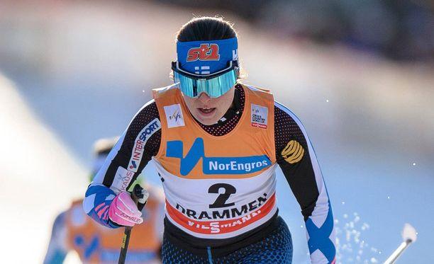 Krista Pärmäkoski selvitti jatkopaikan.