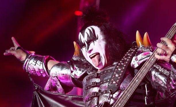 Kiss esiintyy torstaina Helsingissä.