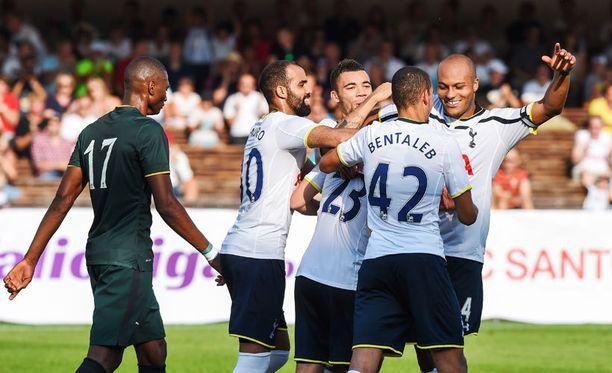 Viime lauantain ottelu oli Tottenhamin näytöstä. Celtic pelasi B-miehityksellä.