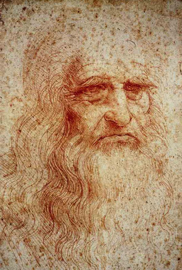 Leonardo da Vincin omakuva noin vuodelta 1512.
